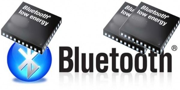 The distinction between intercom to a Bluetooth chip and two-chip Bluetooth